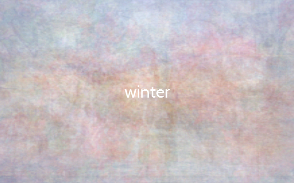 Die Farben im Winter (Bildquelle: thecolorof.com)
