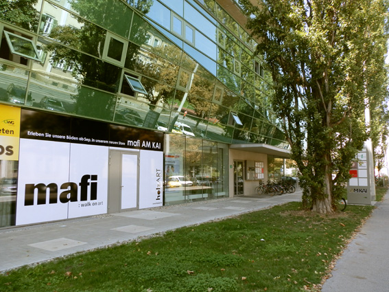 """Die Lage als Markenzeichen, """"Am Kai Home & Business"""" in Graz, Foto (C) Irmgard Brottrager"""