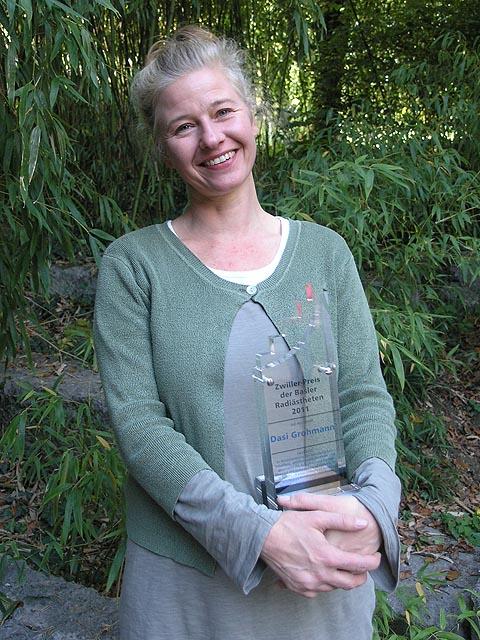 Dasi Grohmann erhält Zwiller-Preis 2011