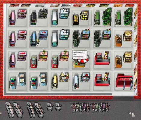 Mit dem Supermarkt-Konfigurator den idealen Supermarkt planen
