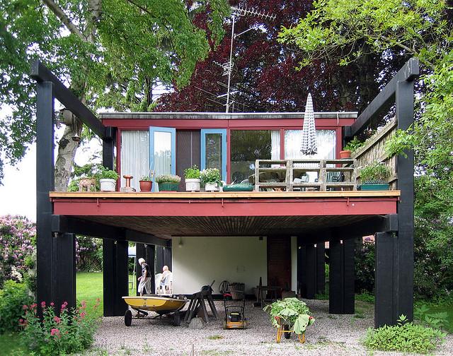 Schön mit der Natur verwoben: Middelboe House in Dänemark von Jörg Utzon, Foto: seier+seier