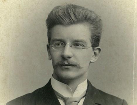 Richard Wilhelm als junger Mann