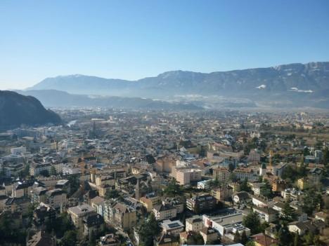 Weniger Elektrosmog als anderswo: Bozen in Südtirol