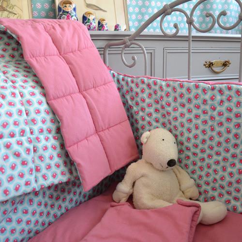 Hell und freundlich: Kinderzimmer im französischen Stil