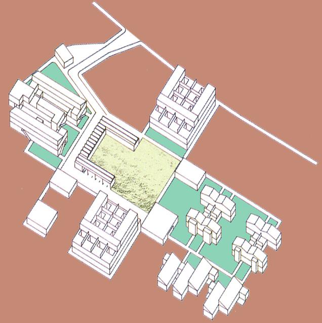 Gruppen-Wohnbau in Altenmarkt, Grafik (C) Irmgard Brottrager