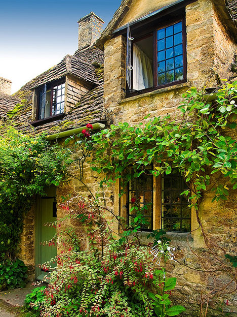 Cottage in Gloucestershire, England