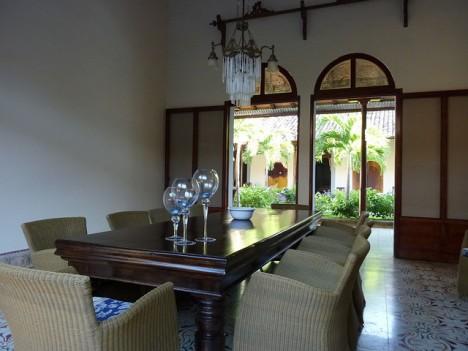 Esszimmer im Kolonialstil, Granada, Nicaragua