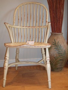 "Windsor ""Stickback-Chair"", traditioneller Stablehnenstuhl aus Warwickshire, England"