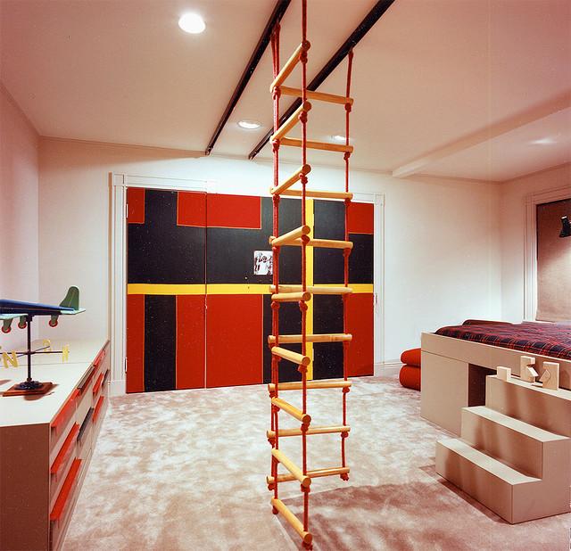 Kreative und praktische Kinderzimmer-Einrichtung, Foto: Phil Manker