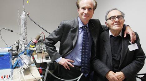Die Erfinder des E-Cat: Andrea Rossi und Sergio Focardi aus Italien