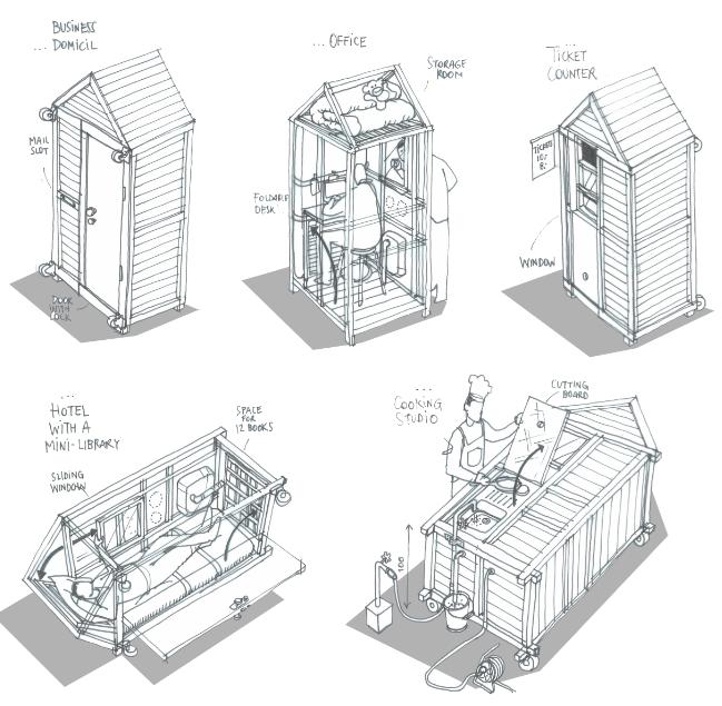 das one sqm house architektur sozialkritik. Black Bedroom Furniture Sets. Home Design Ideas
