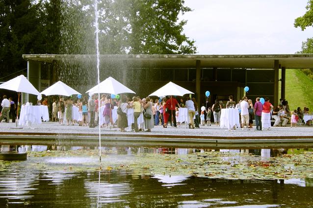 Der Garten als Bühne für Parties und Feste, Foto (C) Irmgard Brottrager