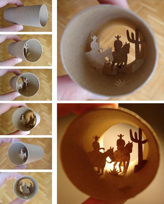 Miniaturwelten von Anastassia Elias in alten Toilettenpapier-Rollen - Bild 2