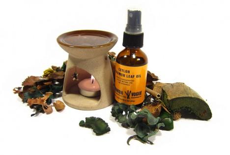 Einfach und wirkungsvoll: Duftlampe zur Verdunstung ätherischer Öle
