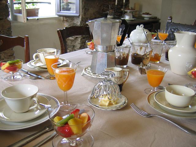 Tisch- und Essenskultur spielt in Frankreich eine große Rolle