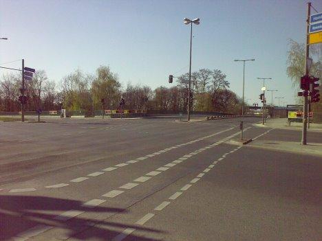 So leer ist selten auf den Straßen