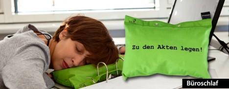 """""""Büroschlaf"""": Kissen-Kollektion aus dem Erfinder-Laden Berlin"""
