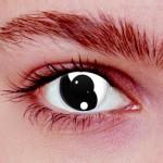 Yin Yang Kontaktlinsen
