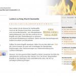 Jetzt online: Lexikon für Feng Shui & Geomantie