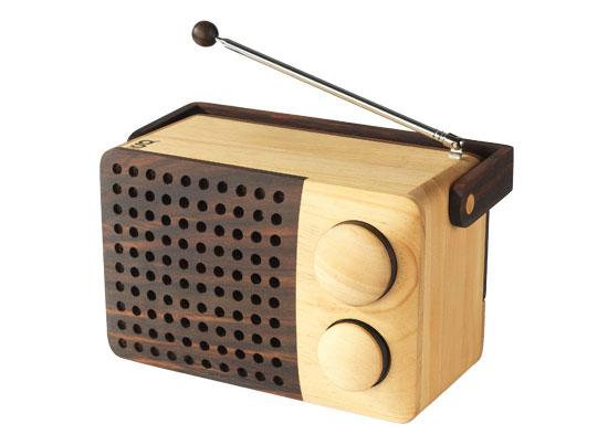 """wooden radio"" - Das Holz-Radio von Singgih Kartono"