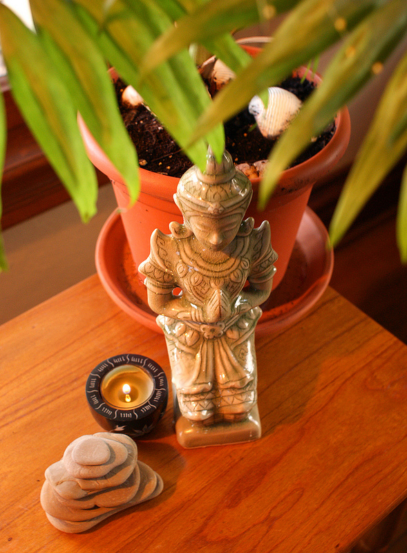 Buddha-Figur: Beliebtes Wohnaccessoir nicht nur für Feng Shui Liebhaber