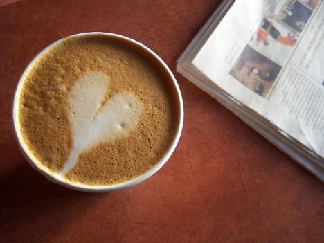 Nehmen Sie sich Zeit für einen Morgenkaffee!