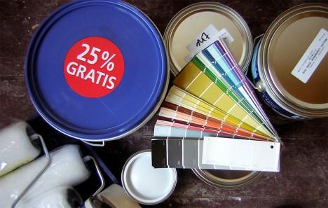 Keine leichte Entscheidung: Welche Farbe sollen die Wände meiner Wohnung bekommen?