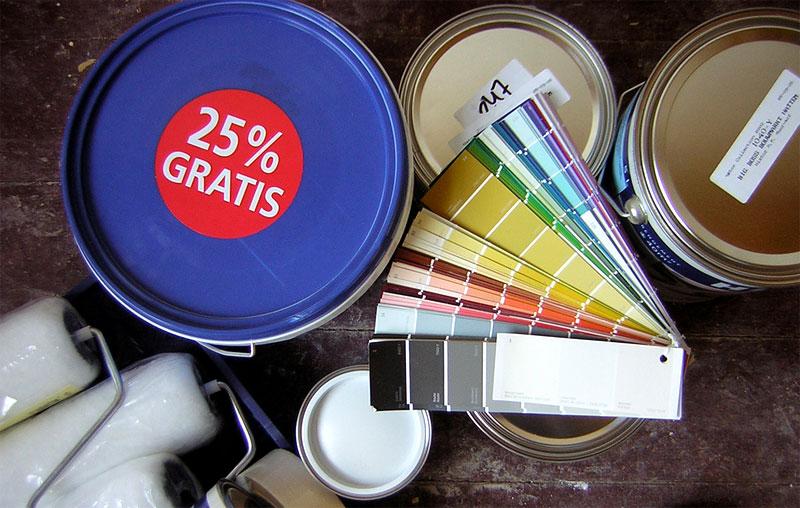 Keine leichte Entscheidung: Welche Farbe sollen die Wände meiner Wohnung haben?