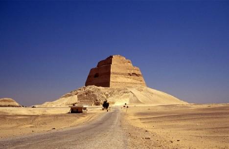 Pyramide von Snofru: Schon immer wurden Menschen von der Ortskraft beeinflusst