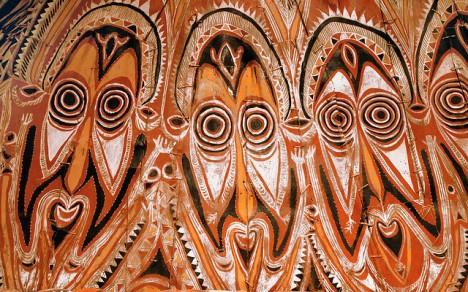 Afrikanisches Kunsthandwerk: Häufig anzutreffendes Merkmal des Ethno-Stils