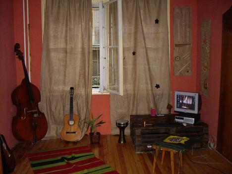 Teenager-Zimmer im Ethno-Stil