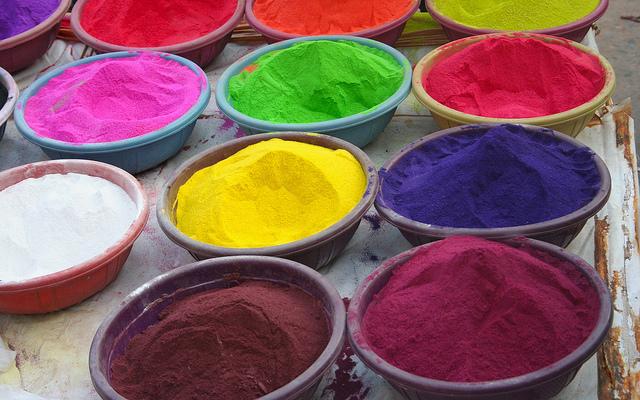 Mit den richtigen Farbpigmenten lässt sich jeder erdenkliche Farbton herstellen