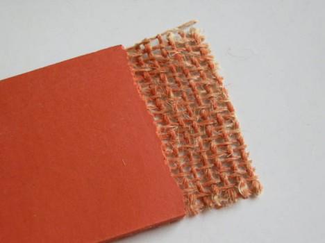 Uni-Farbiges Linoleum auf Jute-Rücken, Foto (C) Irmgard Brottrager