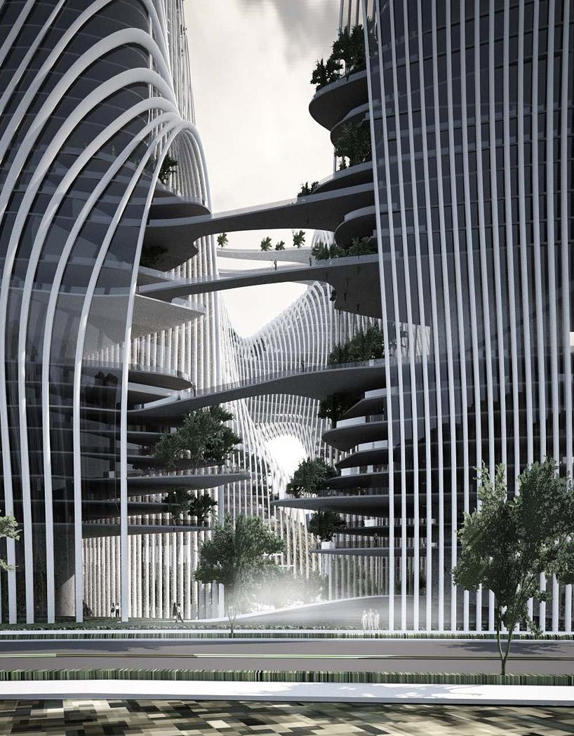 Ma Yansong Konzept ist ein Gegenentwurf zu den anonymen Hochhausbauten in den chinesischen Megacities