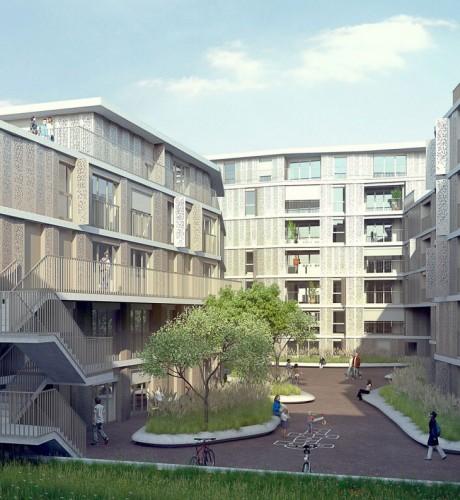 Ressourcenschonend, energieeffizient  und Feng Shui Prinzipien berücksichtigend sind die Gebäude der Mobimo AG