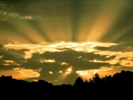 Sonnenaufgang, Foto (C) Irmgard Brottrager