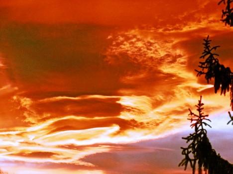 Sonnenuntergang, Foto (C) Irmgard Brottrager