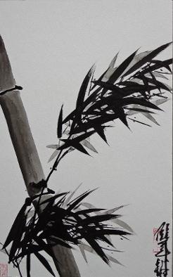 Bambusbild von Jie Quian