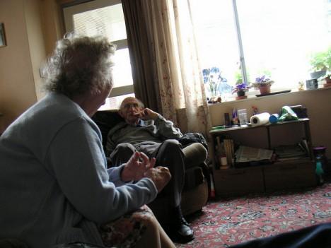Bei den Großeltern zu Hause: Tristesse, die vermieden werden kann