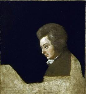 Porträt von Wolfgang Amadeus Mozart (1756-1791)