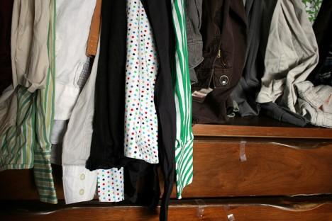 Zugemüllt: Der Kleiderschrank ist mehr als nur ein Aufbewahrungsort!