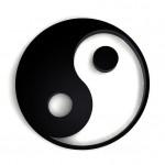 Symbol der Ausgewogenheit: Yin-Yang