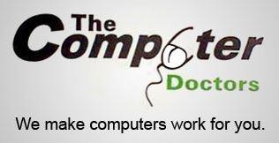 """Die Assoziationskraft des Logos von """"The Computer Doctors"""" hat schon so manchen Kunden zum Schmunzeln gebracht"""