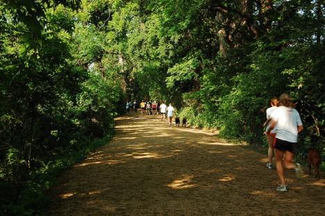 Ob im Stadtpark oder in der freien Natur - eine geeignete Laufstrecke lässt sich fast überall finden