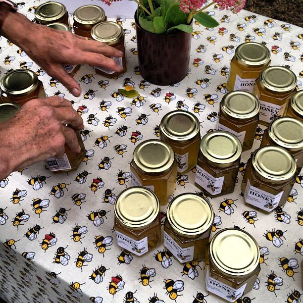 Die Vermarktung von Honig, den man als Hobby-Imker gewonnen hat, lohnt sich kaum