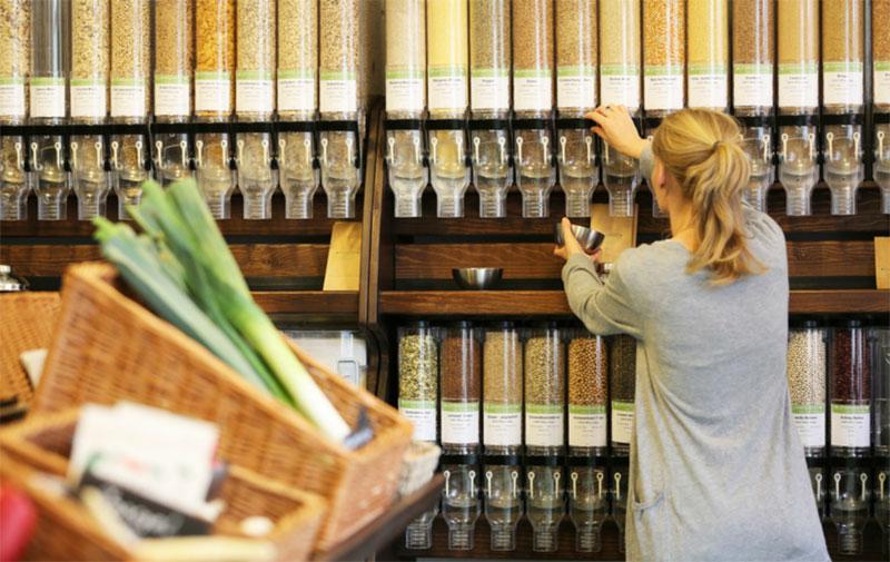 In Kiel bereits Realität: Ein Supermarkt ohne Verpackungen