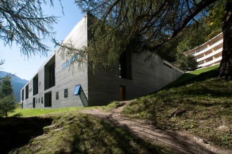 Therme in Vals: Zwei Jahre nach Fertigstellung wurde das Bauwerk zum Denkmal erklärt