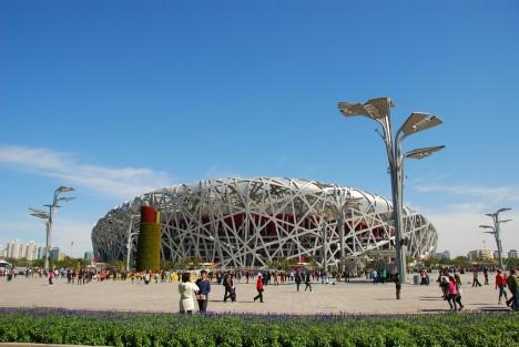 Musterbeispiel bionischer Architektur? Bird's Nest - Beijing National Stadium