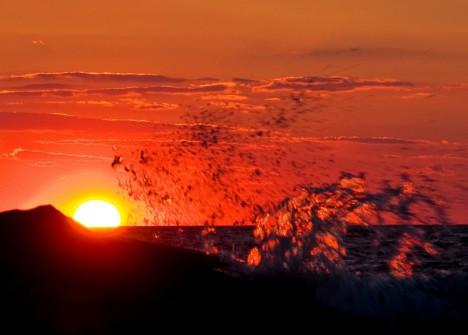 Sonnenuntergang auf See: Geeignetes Panorama für eine Seebestattung?
