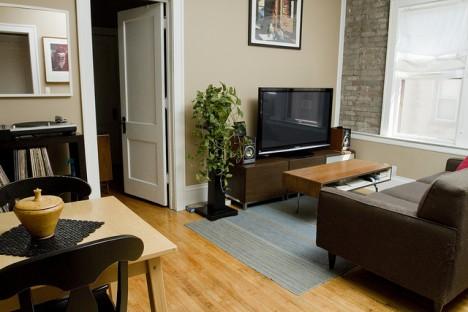 wohnen mit stil auf kleinstem raum. Black Bedroom Furniture Sets. Home Design Ideas